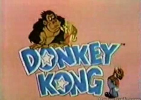 Donkey Kong cartoon